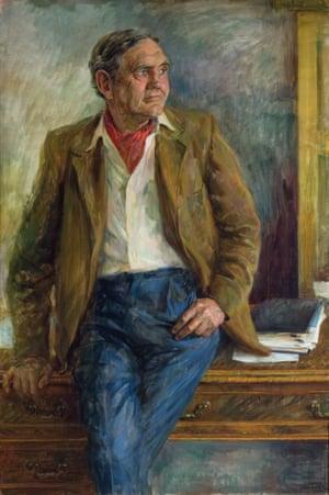 The Rt Hon. Sir John G. Gorton AC CH, 1971.June Mendoza (born 1927)