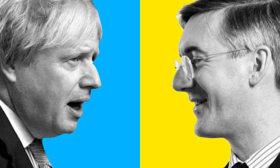 Boris Johnson and Jacob Rees-Mogg