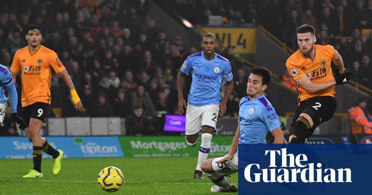 Matt Doherty stuns 10-man Manchester City to give Wolves thrilling win