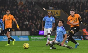 Matt Doherty drives in Wolves' winner to complete their comeback from 2-0 down.