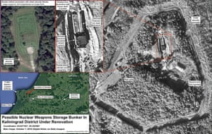 An image from a report from the Federation of American Scientists on the upgrade of a nuclear weapons storage facility in Kaliningrad.