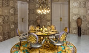 An Aykon Tower Versace-designed interior