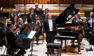 'A true collaboration' ... Murray Perahia begins his Beethoven cycle with the Academy of St Martin in the Fields at the Barbican, London.