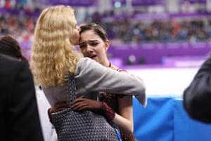 Evgenia Medvedeva and Eteri Tutberidze