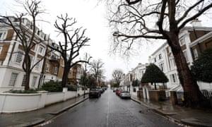 Kensington and Chelsea street