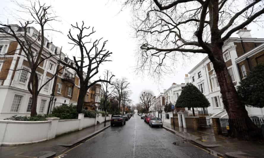 Lansdowne Road in the Kensington and Chelsea borough of London,