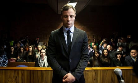 Oscar Pistorius in court in Pretoria. 'There are no other legal options available,' prosecutors said.
