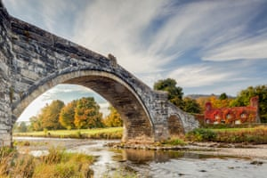 Pont Fawr and river Conwy, Llanrwst, Conwy, by Julian Elliott – winner of the countryside is great award