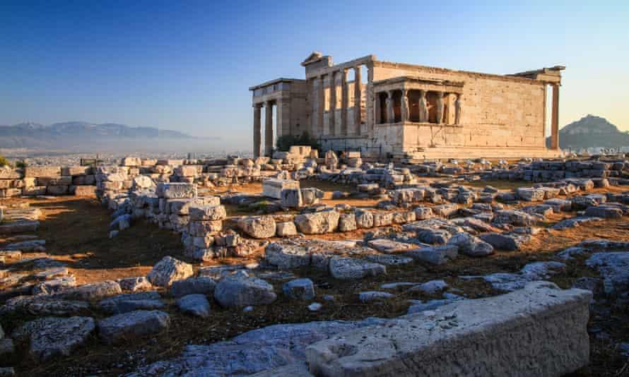 Erechtheion, an ancient Athenian temple
