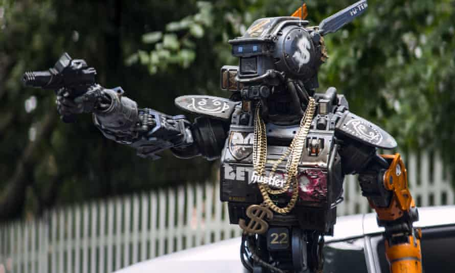 A still from Chappie