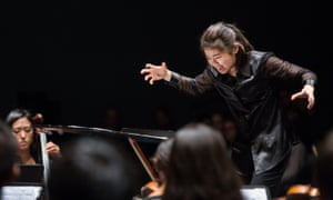 Elim Chan conducts the Lucerne Festival Academy Orchestra.
