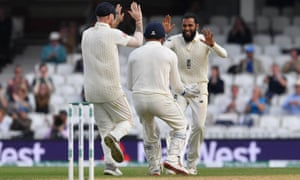 Rashid celebrates taking Pants wicket