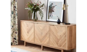 A John Lewis & Partners Estate sideboard (flowers and vase not included)