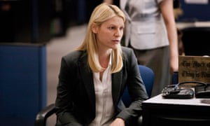 'When will this end?' … Claire Danes as Carrie Mathison in Homeland