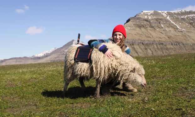 Durita Andreassen with her Sheep View 360 project last year.