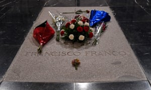 The grave of Spain's General Francisco Franco