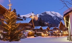 Madonna, Anne Hathaway and Harvey Weinstein are all known to have spent Christmases in Gstaad, Switzerland.