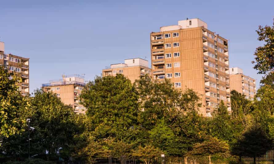 The Alton Estate in Roehampton, south-west London