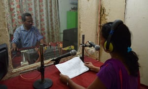 At the Story Kitchen in Nepal, women learn audio and interviewing techniques that enable them to become 'justice reporters'