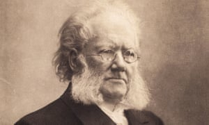 Romantic torment … Henrik Ibsen in 1900.