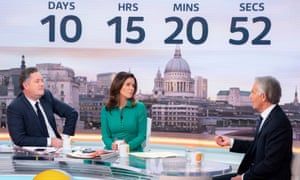 'Good Morning Britain' TV show, London, 19 March 2019