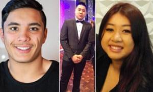 Joshua Tam, Nathan Tran and Diana Nguyen