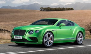 Bentley Continental GT Speed: car review | Martin Love | Technology ...