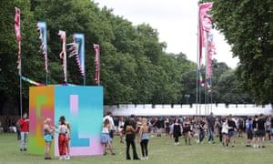 Lovebox festival 2017 at Victoria Park.