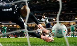 Totenham's Dele Alli scores the winning penalty in the shootout past Watford's Heurelho Gomes in the city where the England midfielder was born.