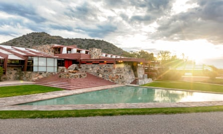 Taliesin West was the architect Frank Lloyd Wright's winter home and school in the desert from 1937 until his death in 1959 at the age of 91.