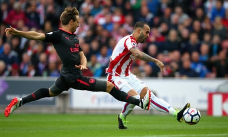 Stoke City's Jesé Rodríguez makes Arsenal pay for lack of cutting edge