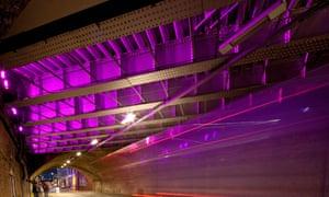 The Bermondsey Street tunnel in London