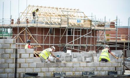 A building site.