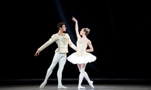 Soares and Marianela Nuñez in Diamonds by George Balanchine in 2011. The pair met at the Royal Ballet and married that year