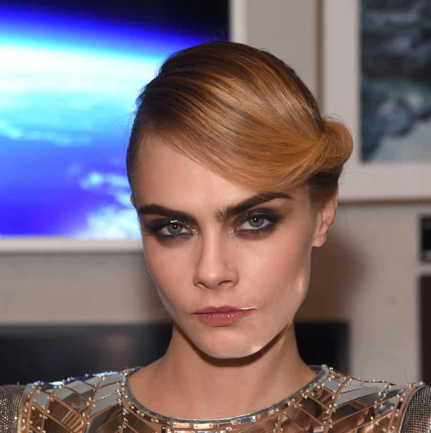 The brows that started the boom: Cara Delevingne