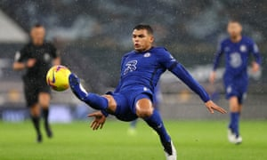 Thiago Silva injures himself clearing his lines