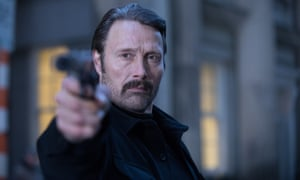 Polar review – hyper-violent Netflix thriller drowns in gore
