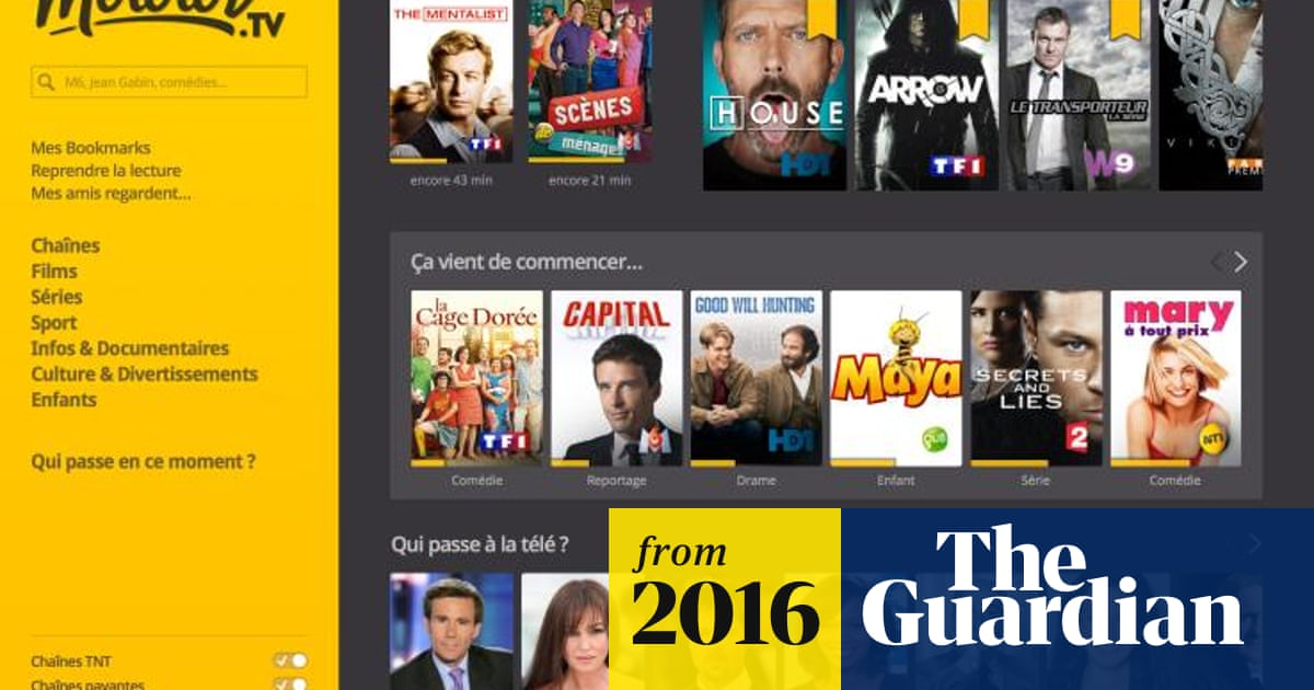 Sky invests £3.4m in French TV streaming platform Molotov