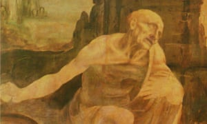 Saint Jerome Praying in the Wilderness by Leonardo da Vinci.