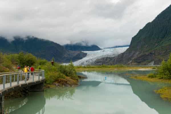 Mendenhall Lake, Alaska.