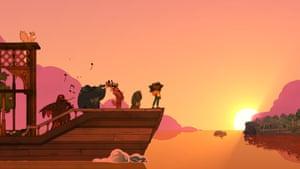 Spiritfarer Screenshot characters on Deck
