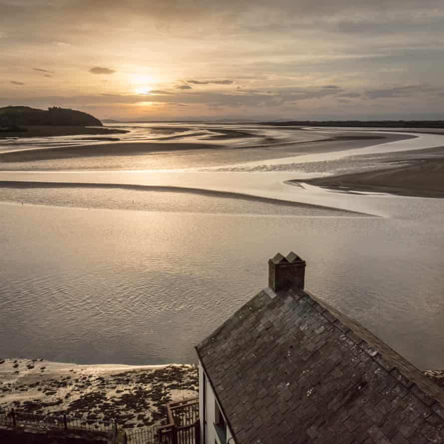 Dylan Thomas Boathouse in Laugharne, Dyfed, where the poet lived between 1949 and 1953,
