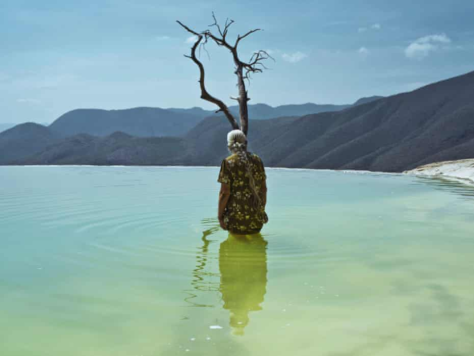 An image of Hierve el Agua from Cristina de Middel's photographic project Journey to the Center.