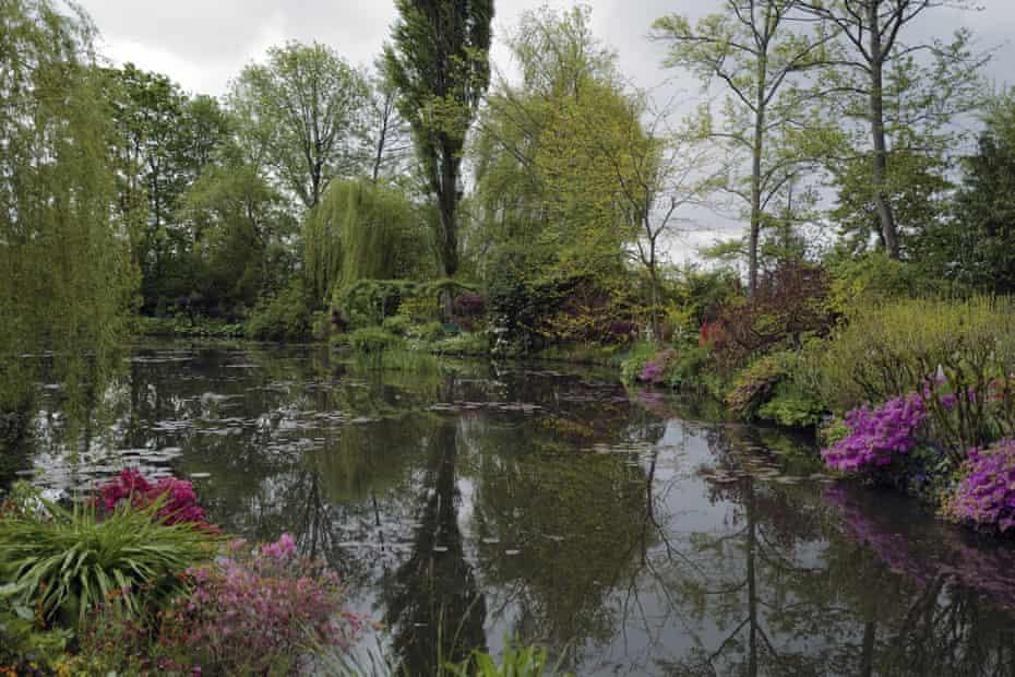 The Japanese-inspired water garden of Claude Monet
