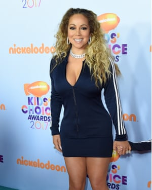 Sporty chic for the Nickelodeon Kids' Choice Awards.