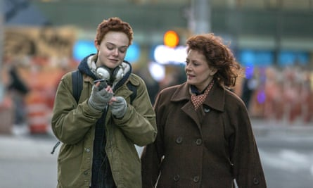Fanning as Ray with grandmother Maggie played by Sarandon.