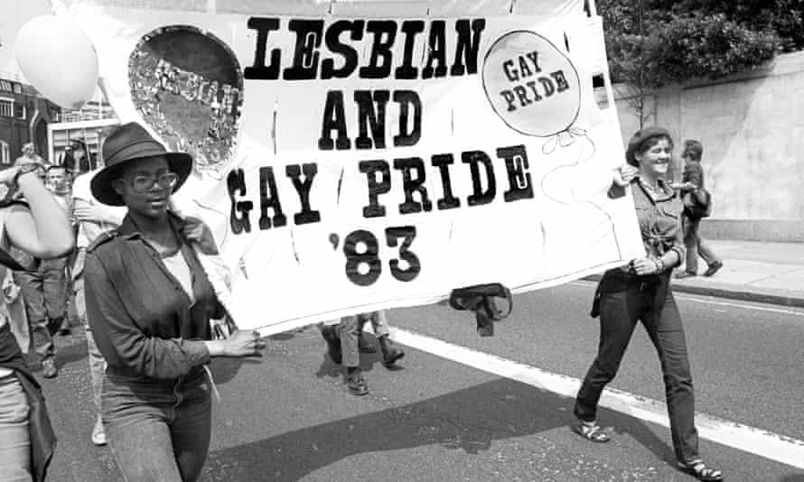 Lesbian & Gay Pride, London, 1983.