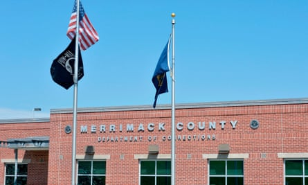 Merrimack County Department of Corrections in Boscawen, New Hampshire, where Ghislaine Maxwell is being held.