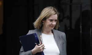 Amber Rudd leaving 10 Downing St