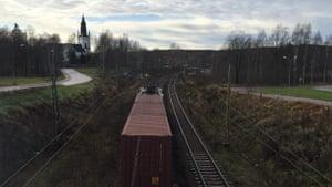 Skinnskatteberg, Sweden.